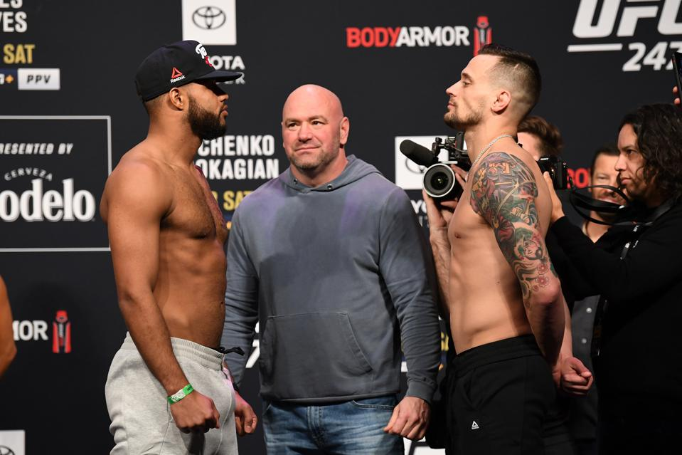 James Krause vs. Trevin Giles at UFC 247: Weigh-Ins