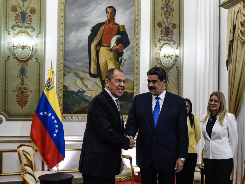Maduro Gets That Old Time Capitalism Religion