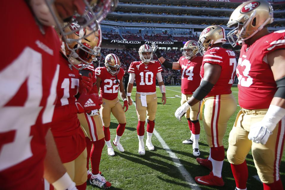 The 49ers are one of the most technologically advanced teams in the NFL and they have looked to use SAP's Executive Huddle in their efforts to aid the fan expierience.