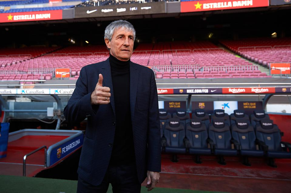 'I Love The New Boss': How Has Quique Setien's Appointment At FC Barcelona Been Received?