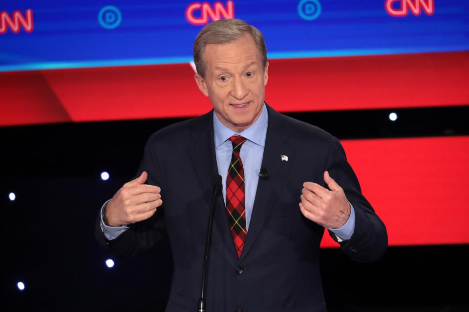 Democratic Presidential Candidate Tom Steyer