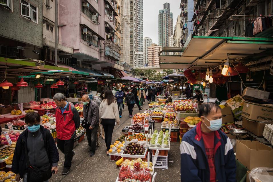 Coronavirus china market