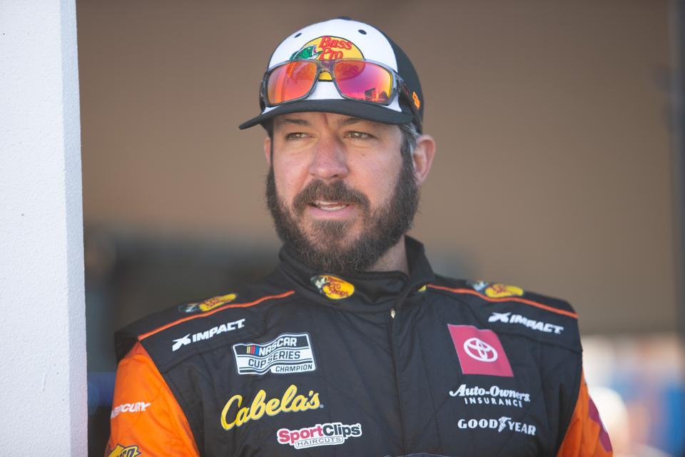 AUTO: FEB 8 NASCAR Cup Series - DAYTONA 500. Martin Truex Jr. Nascar driver.
