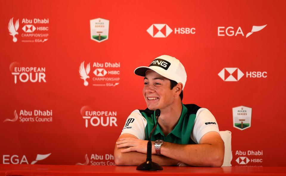 Abu Dhabi HSBC Championship - Hovland