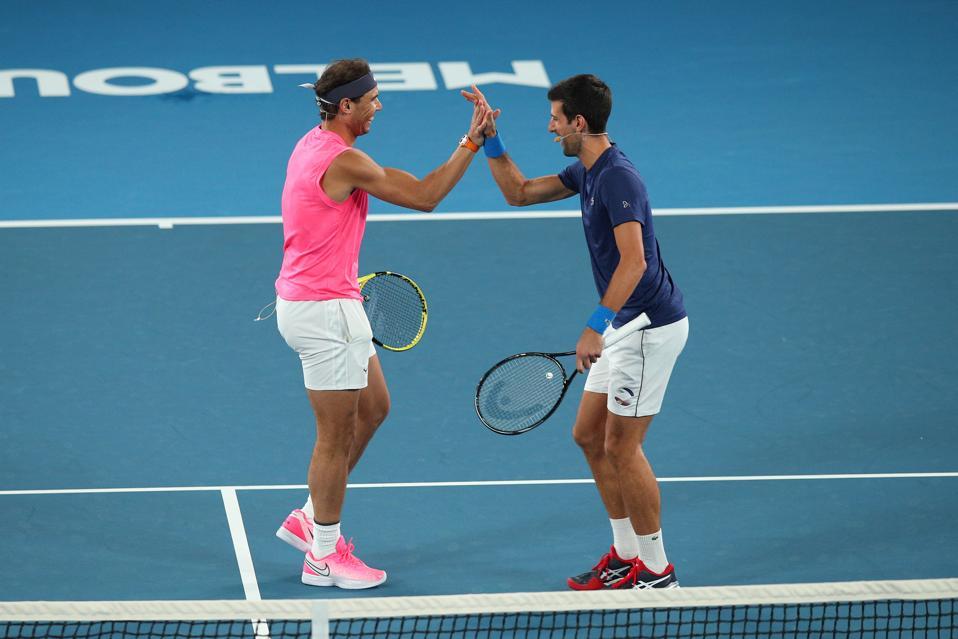 Novak Djokovic Rafael Nadal Should Deal With It And Play U S Open British No 1 Says