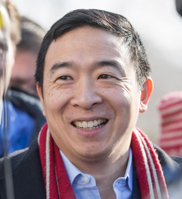 Andrew Yang proposed that everyone gets a check for $1,000 a month forever.