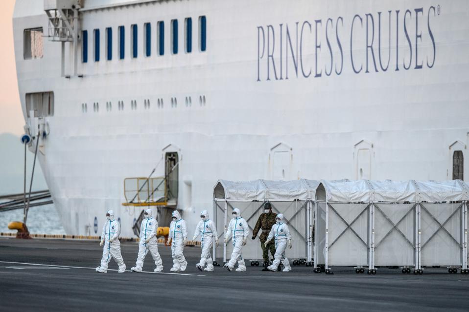 Diamond Princess Cruise Ship Quarantined As Coronavirus Cases Grow Japan China Wuhan