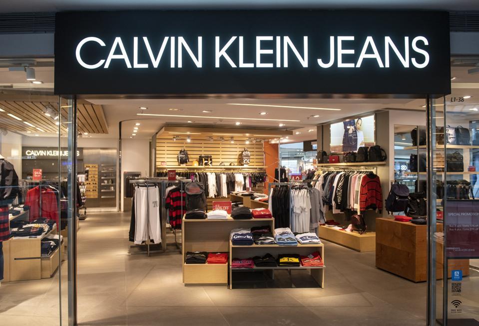 American multinational fashion brand Calvin Klein Jeans...