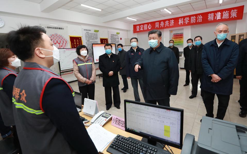 CHINA-BEIJING-XI JINPING-CORONAVIRUS CONTROL-INSPECTION (CN)