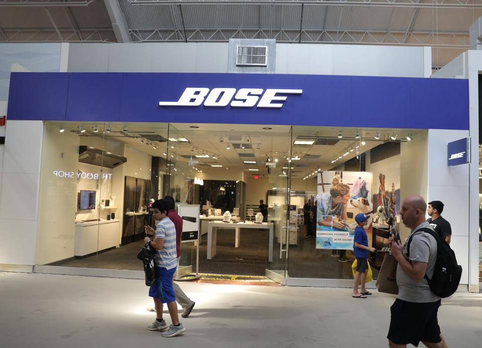 Bose To Close 119 Retail Stores Around The World As Customers Shift To E-Commerce