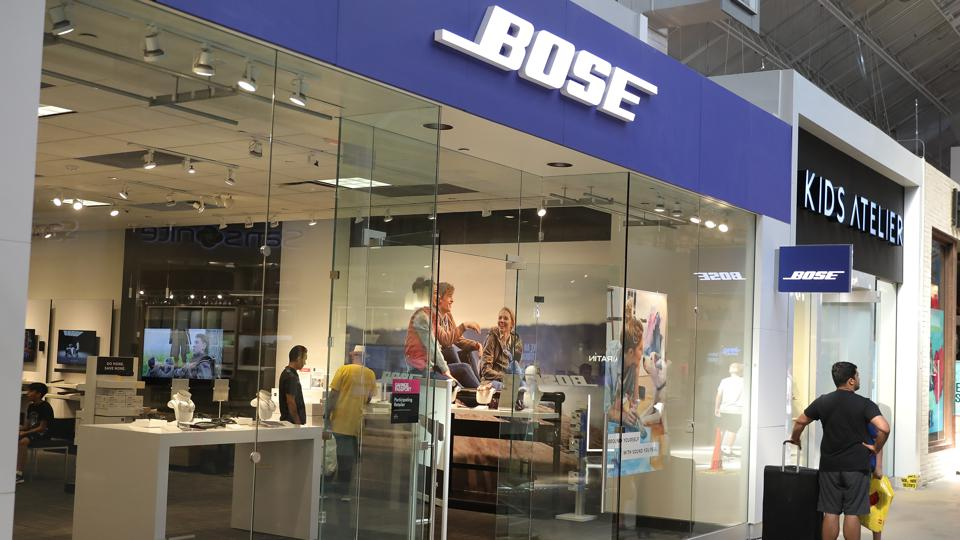 Another one bites the dust: Bose closes half its retail outlets