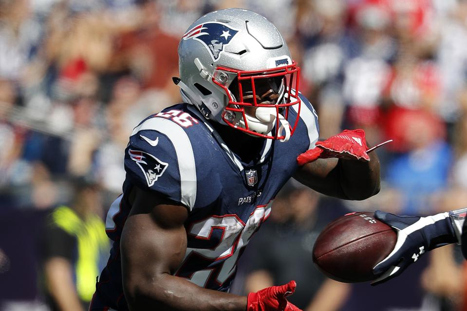 timeless design 4591d fa861 Patriots' Sony Michel Given The Green Light After Stop On ...
