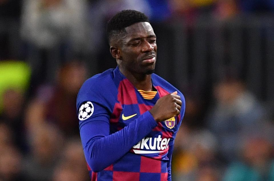 FC Barcelona will put Ousmane Dembele up for sale if he doesn't meet one condition.