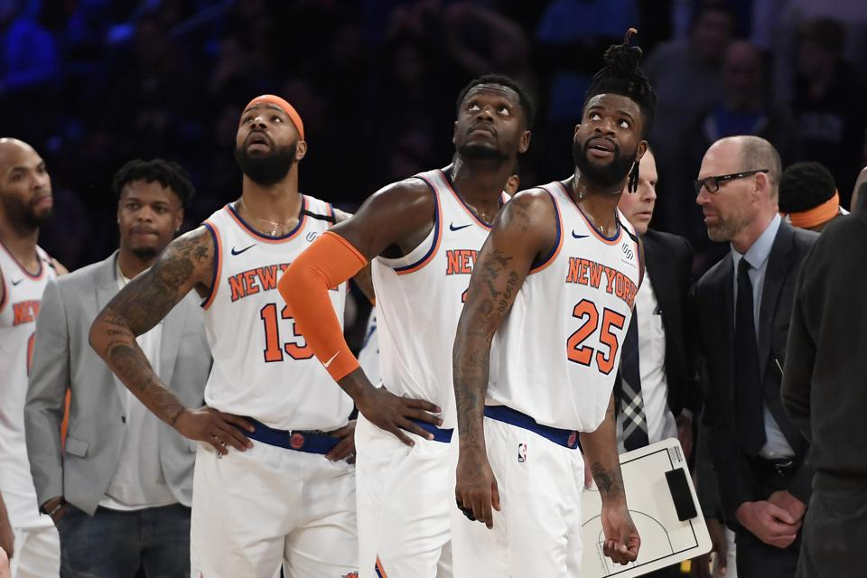 It's Time For The Knicks To Focus On The Future By Playing Their Youngsters