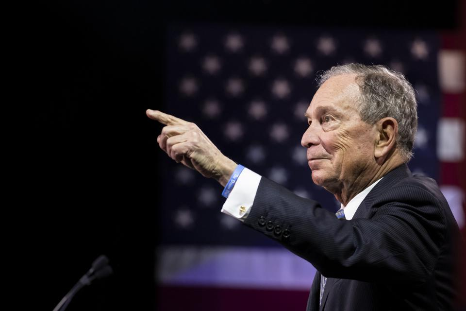 Bloomberg Gets Tough On Wall Street With Proposals That Echo Progressive Rivals' Plans