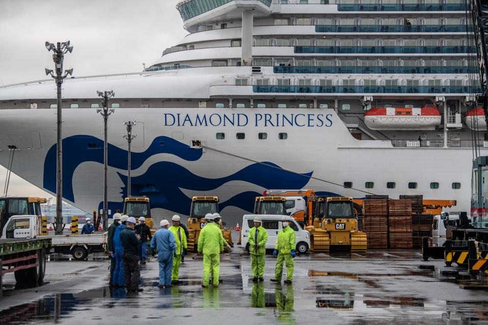 Diamond Princess Cruise Ship Remains Quarantined As Coronavirus Cases Grow