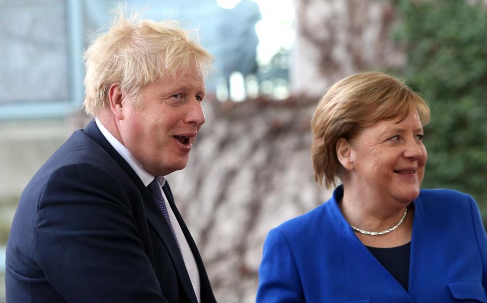 Pro-Russia disinformation targets Angela Merkel and Boris Johnson