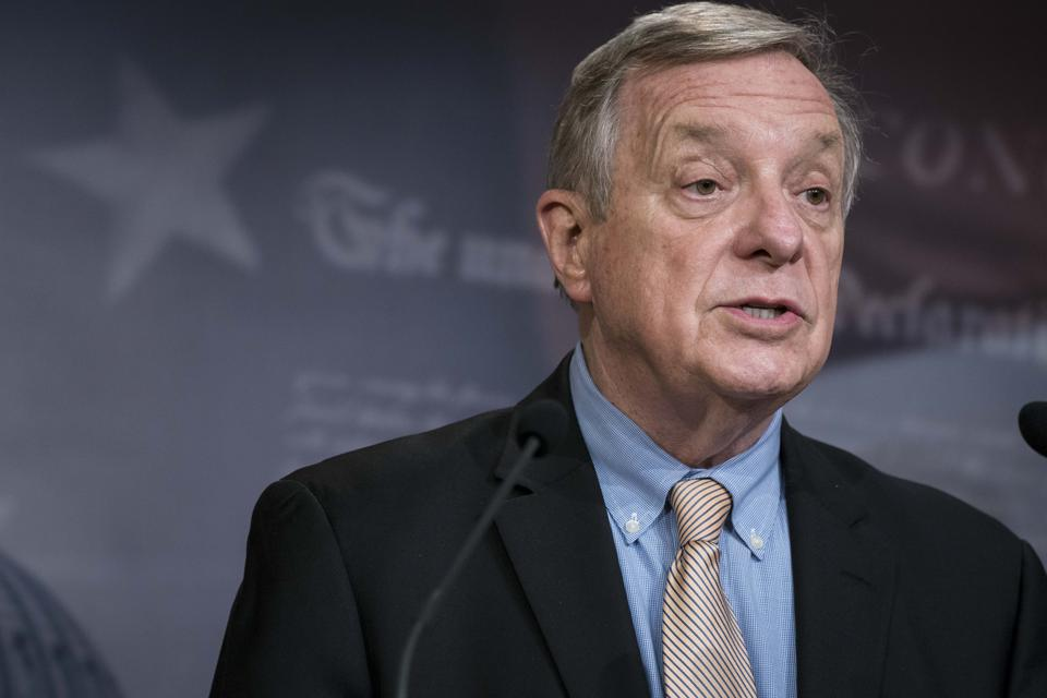 Senate Democratic Whip Dick Durbin (D-IL) and other Democratic lawmakers unveiled a plan to provide full debt cancellation for defrauded student borrowers in the next coronavirus relief package.