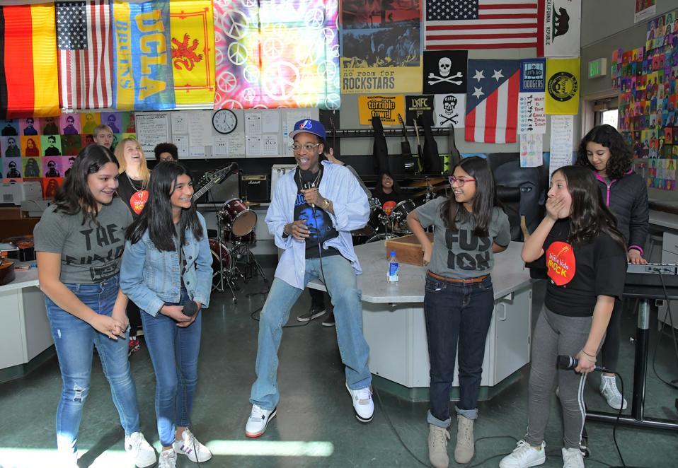 Wiz Khalifa & National Non-profit Little Kids Rock Partner To Bring Music Education To Public School Students