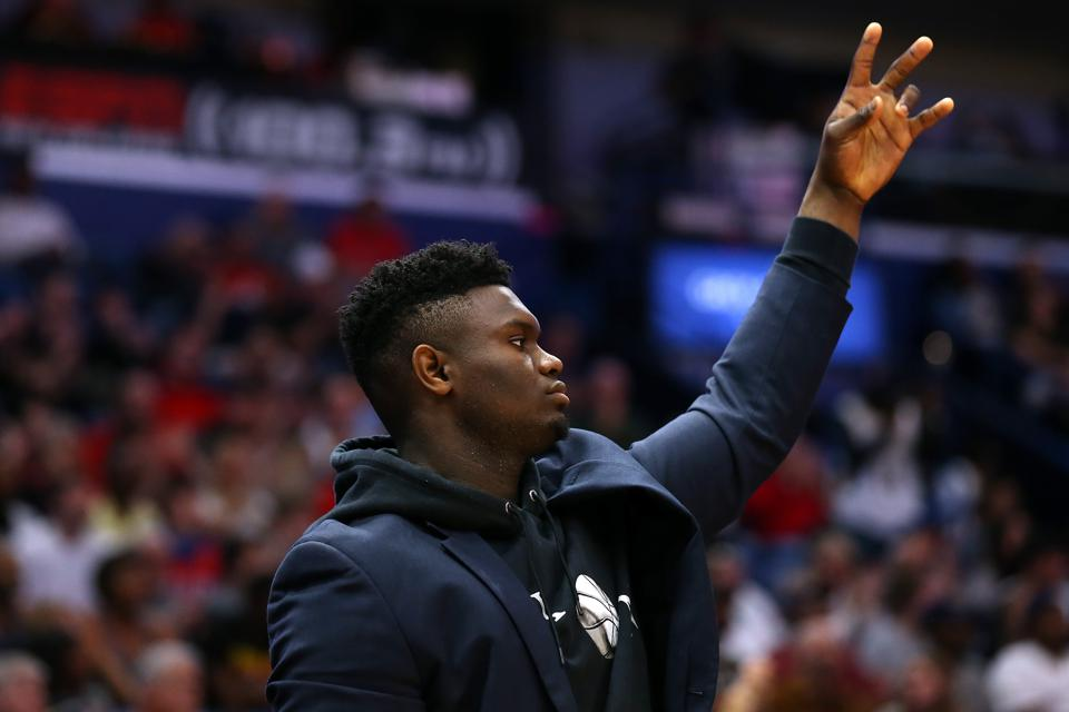 New Orleans Pelicans Zion Williamson Ready To Dance Into