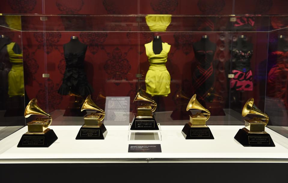 Opening Night Of The Grammy Museum Exhibit ″Beyond Black - The Style Of Amy Winehouse″