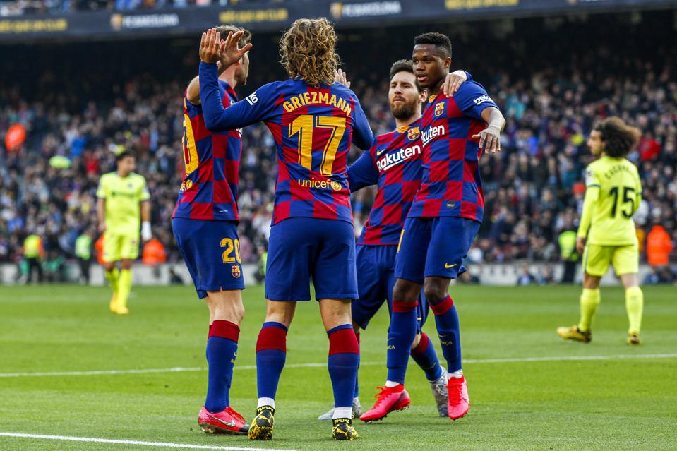 fc barcelona and koeman have a luxury attack for the 2020 2021 season fc barcelona and koeman have a luxury