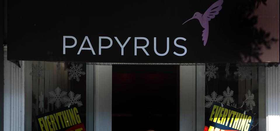 Papyrus Bankruptcy: Just The Latest Example Of Retailers Being Out Of Step With Customers