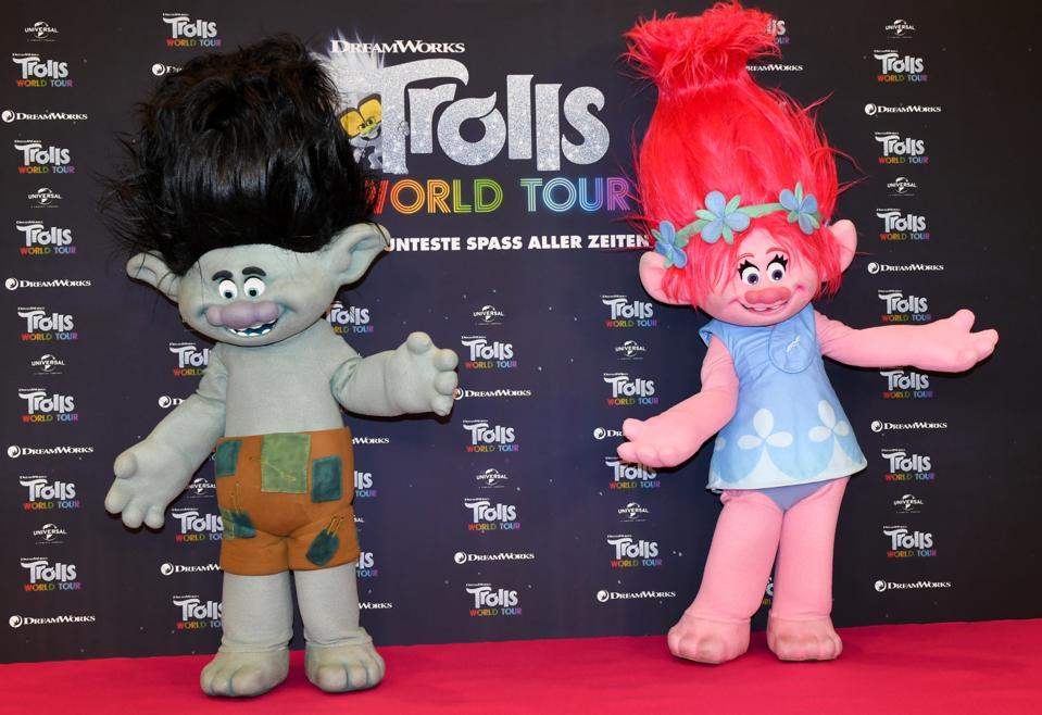 Trolls World Tour photo opportunity