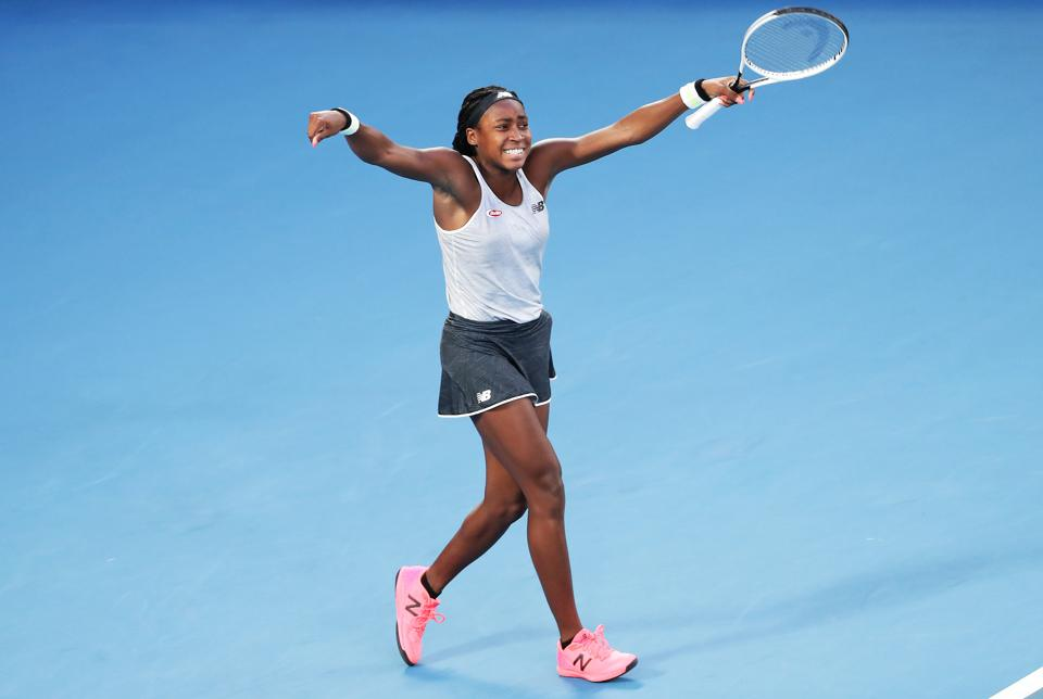 American Teen Sensation Coco Gauff Stuns Defending Champion Naomi Osaka At Australian Open