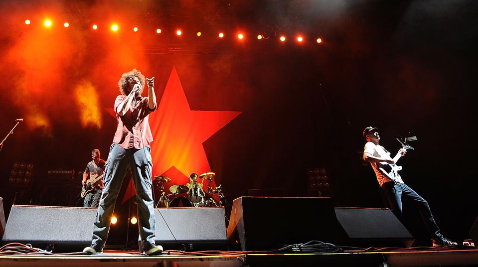 Rage Against The Machine And Goldenvoice Present ″L.A. Rising″