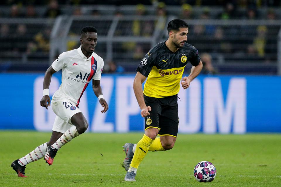 Borussia Dortmund v Paris Saint Germain - UEFA Champions League