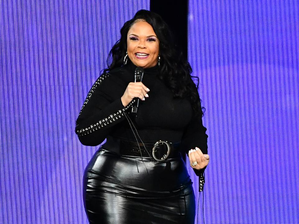 Oprah's 2020 Vision Tour, Tamela Mann, music, health, weight, wellness, singing