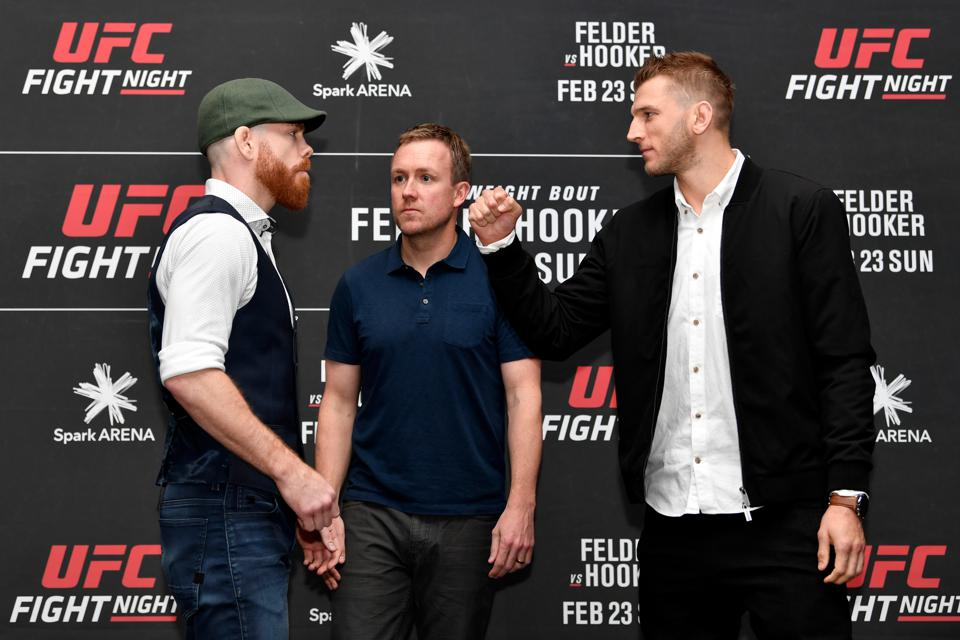UFC Fight Night 168 Weigh-In Video Live Stream For Paul Felder Vs. Dan Hooker Fight Card