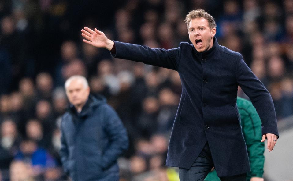 Tottenham Hotspur - RB Leipzig Mourinho Nagelsmann
