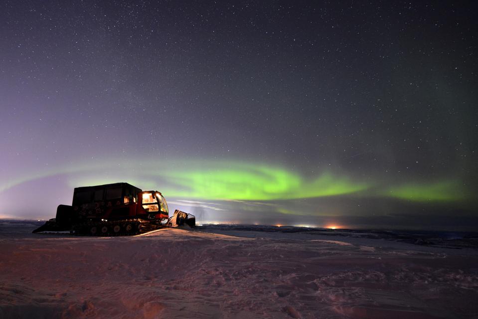 Northern Lights in Murmansk Region