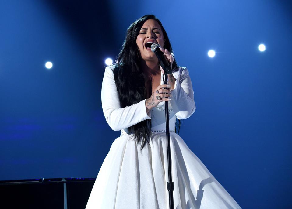 Demi Lovato Anyone 2020 Grammys