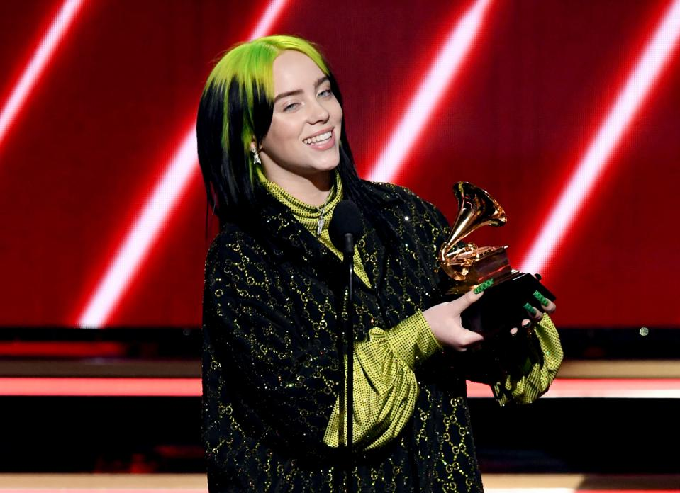 billie eilish makes grammy history by sweeping the big four categories billie eilish makes grammy history by