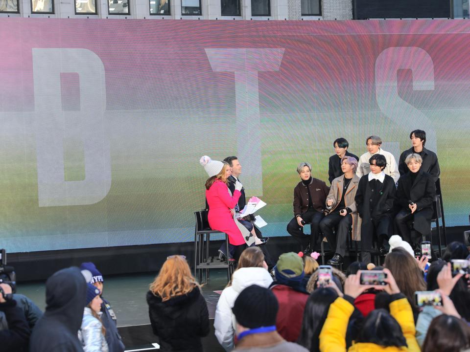 Celebrity Sightings In New York - February 21, 2020
