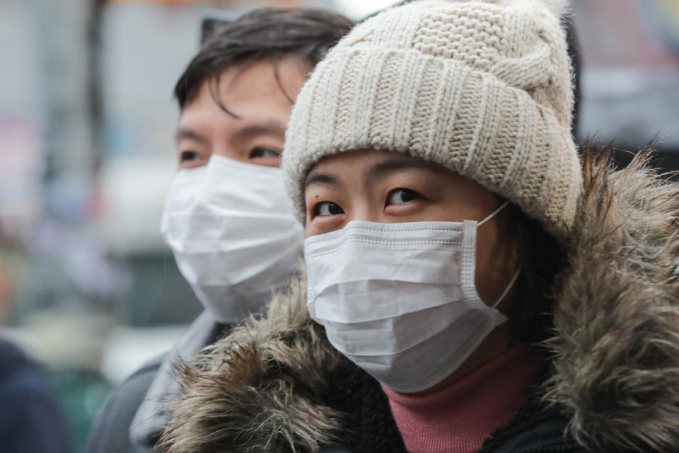 Coronavirus Masks in NYC