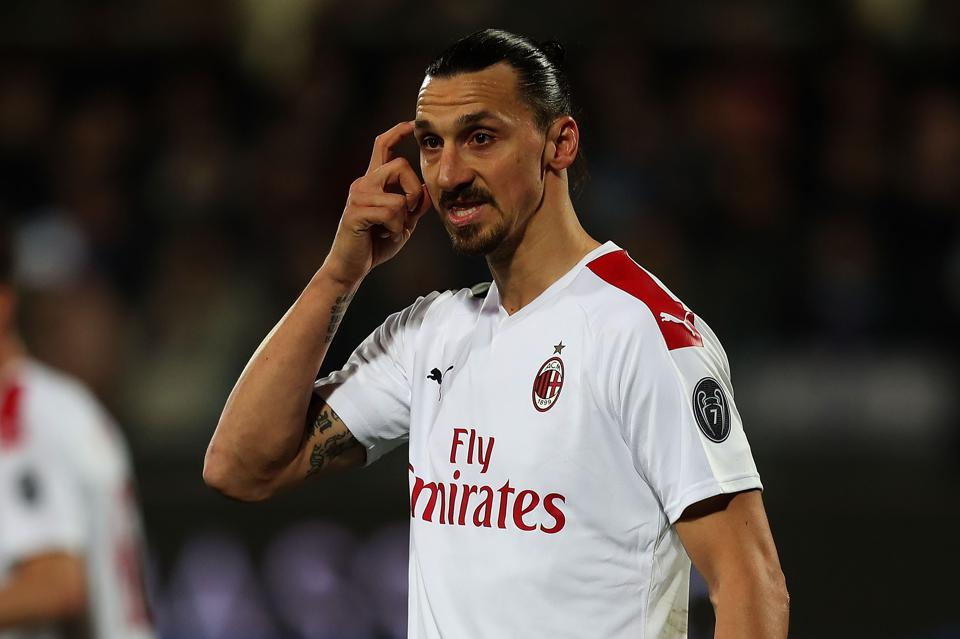 38-Year-Old Zlatan Ibrahimovic To Be Handed One-Year Extension At AC Milan