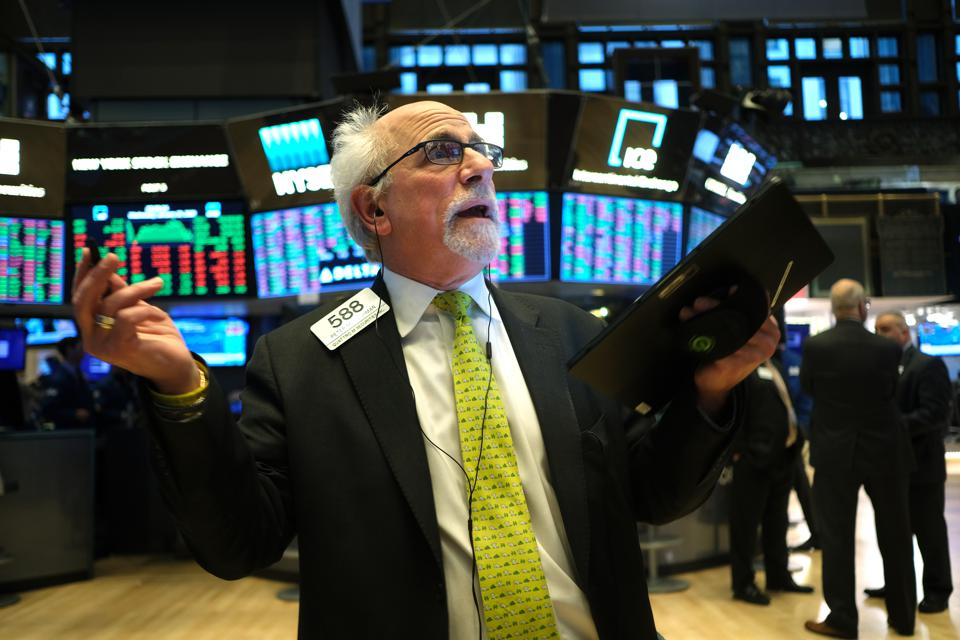Stock Markets React To Federal Reserve Interest Rate Announcement