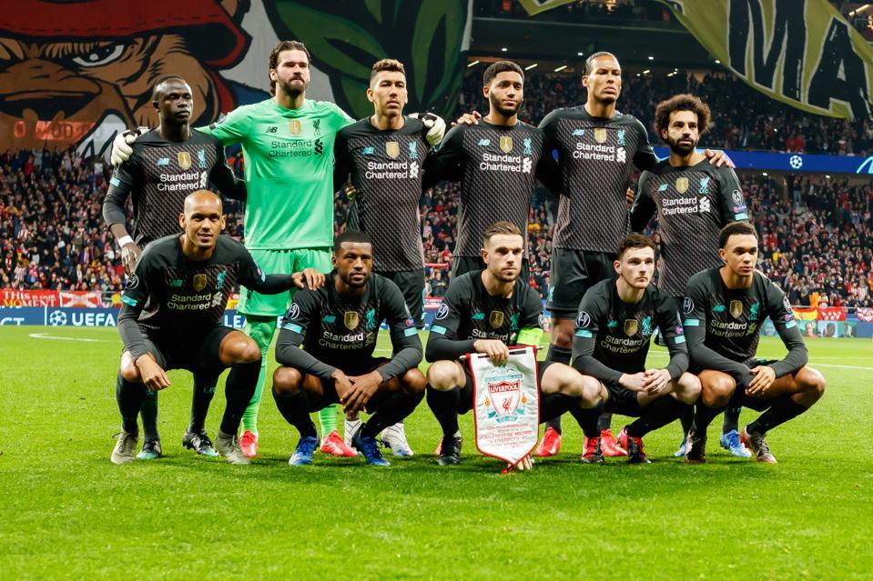 Liverpool starting 11 Atletico Madrid