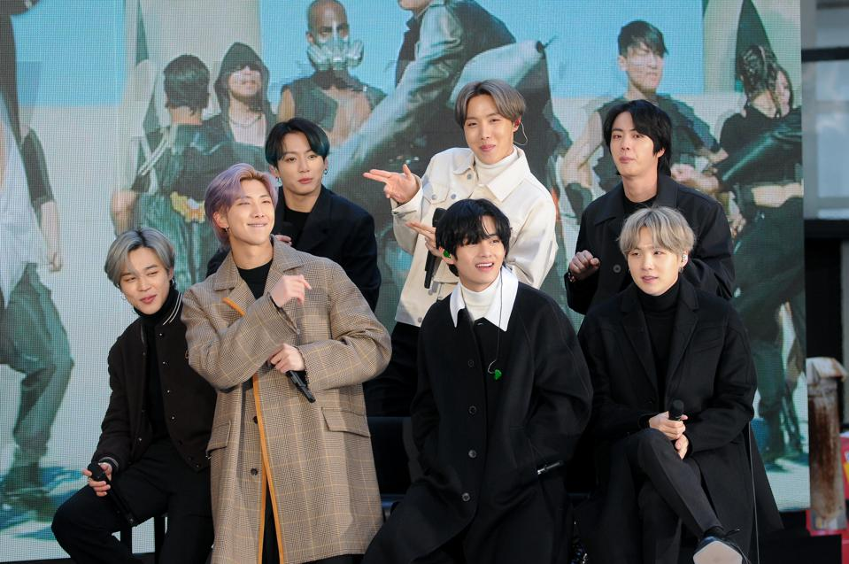 BTS Makes History In Ireland By Charting The First-Ever Korean No. 1 Album