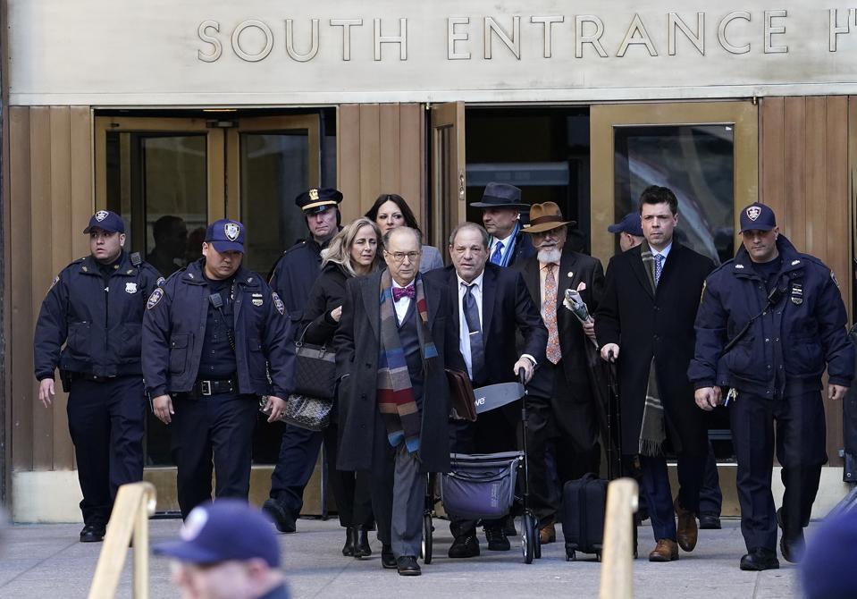 Harvey Weinstein jury deliberations in New York, US - 21 Feb 2020