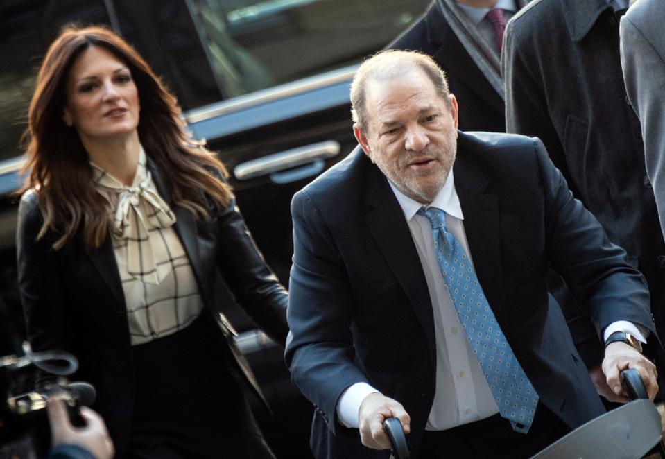 Harvey Weinstein Reportedly Tests Positive For Coronavirus