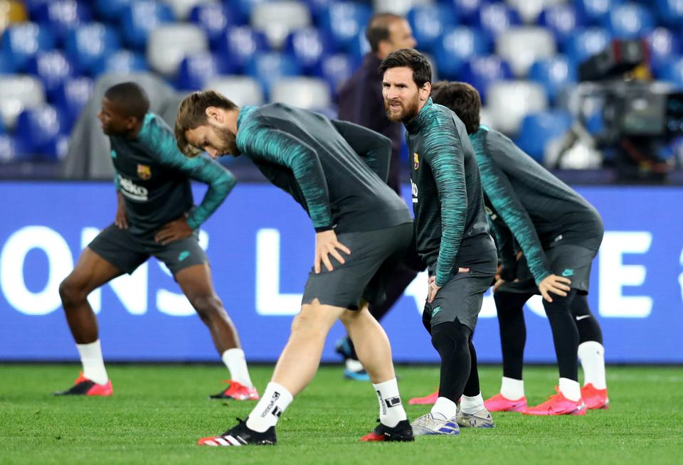 FC Barcelona's players have refused to take a pay cut.