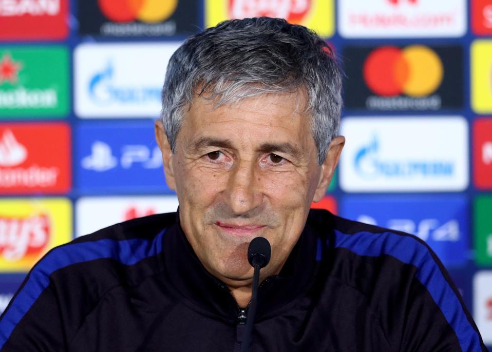 FC Barcelona coach Quique Setien has spoken ahead of El Clasico