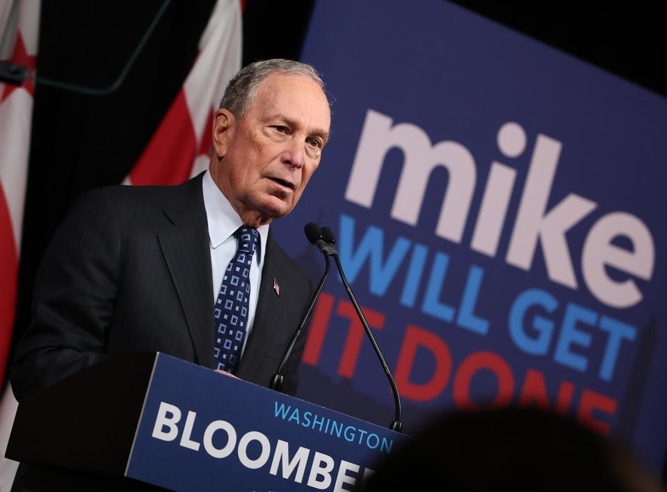 Mike Bloomberg Makes Speech On Affordable Housing and Homelessness