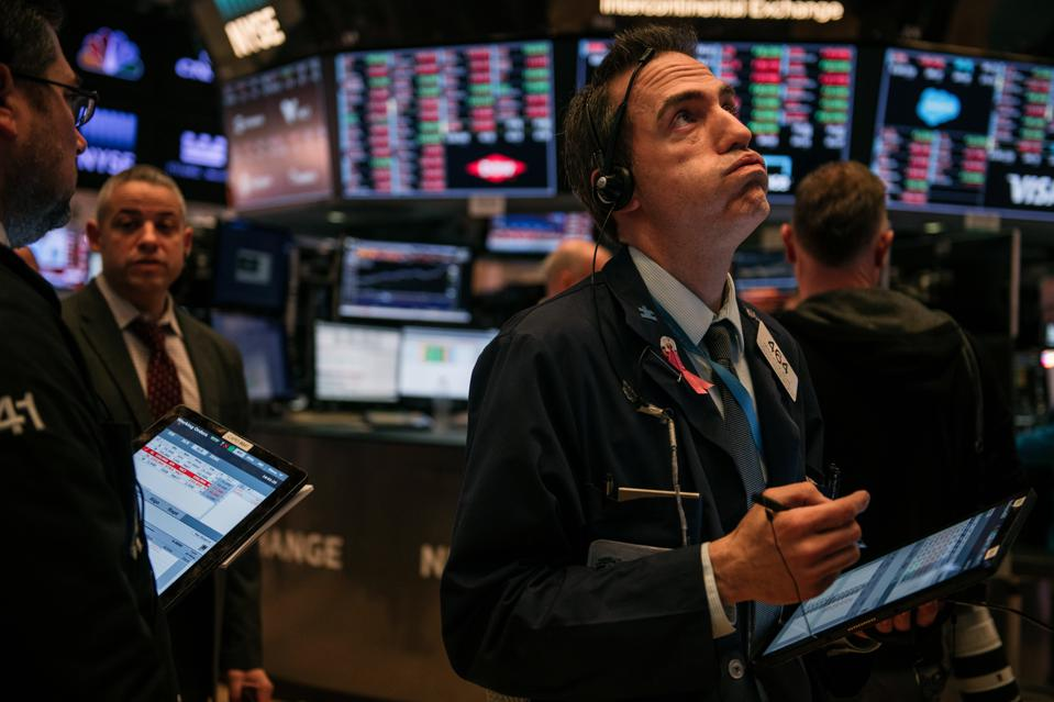 Dow Plunges For Second Straight Day On Coronavirus Disruption Fears