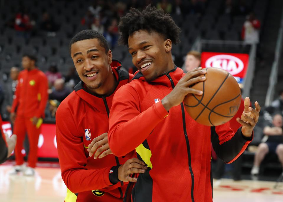 John Collins and Brandon Goodwin avoided being traded early Wednesday morning,